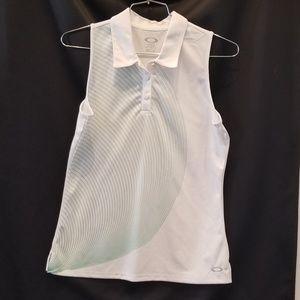 Oakley Womens Tennis Shirt Size L Sleeveless